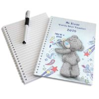 Personalised Me to You Teacher A5 Notebook - ideal gift for your favourite teacher at the end of the school year